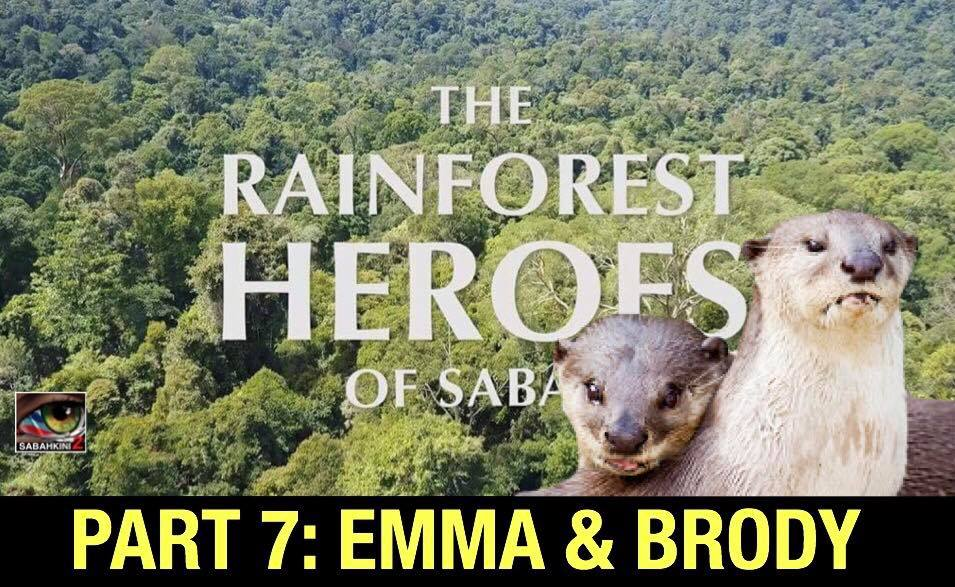 THE RAINFOREST HEROES OF SABAH - EMMA AND BRODY